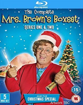 Mrs Browns Boys - Series 1-2 Complete / Christmas Special [Blu-ray] [DVD]