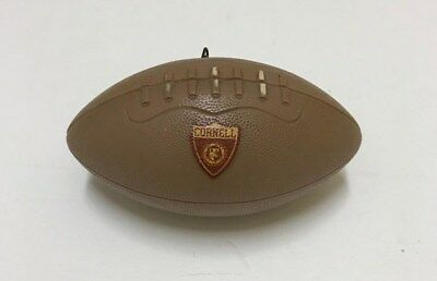 RARE! Vintage Cornell University Football Shaped Music Box Alma Mater d9e1a804eb40