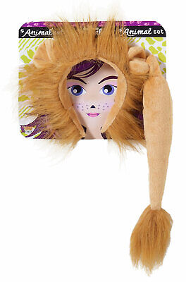Brand New King of the Jungle Animal Lion Costume Kit
