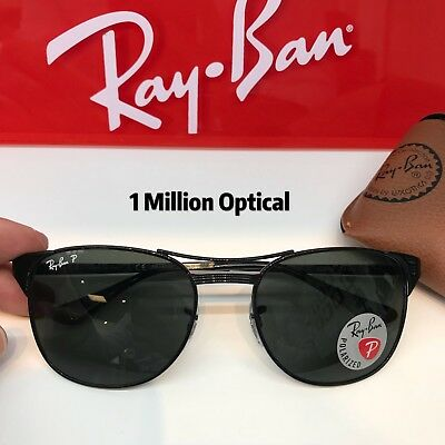 249a25cccf New Authentic Ray-Ban Sunglasses RB3429 Signet 002 58 55 Black Color  Polarized