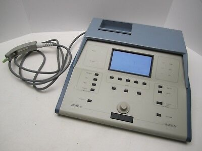 Madsen Zodiac 901 Middle Ear Tester w/ Probe - TESTED WORKING Last Cal. 2007