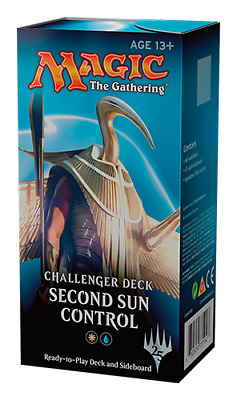 Magic The Gathering Mtg Second Sun Control Sealed Challenger Deck (75 Cards)