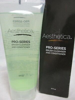 Aesthetica Pro-Series Brush Cleanser And Conditioner, 6 oz / 177 mL ~ Retail Box