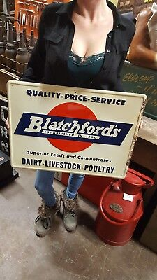 Blatchford's Superior Feeds &  Concentrates Dairy-Livestock-Poultry Sign