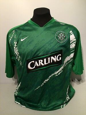 c524474d0 Celtic FC Football Soccer Jersey Nike Fit Dry 90 L Carling Glasgow Scotland  Kit