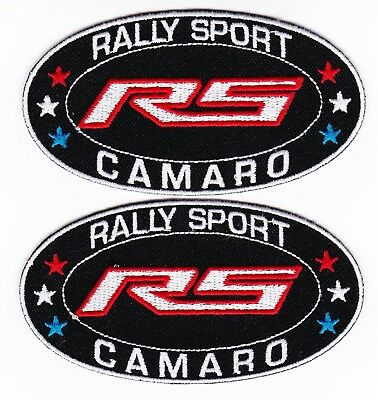Chevy Rally Sport Camaro Sew/iron On Patch Emblem Badge Embroidered 2018