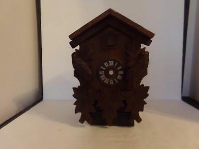 Vintage Wooden Cuckoo Clock Shell Parts/ Repair (Nh )