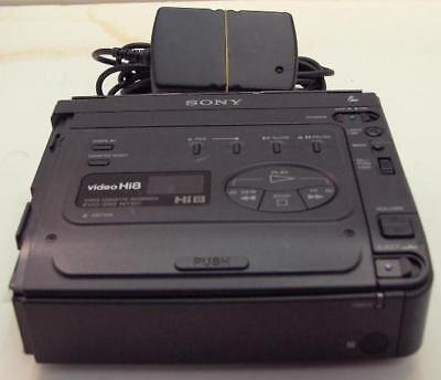 PLAY Hi8 Video8 Video 8 8mm Tapes w/ Sony EVO-250 Player Recorder VCR Deck EX
