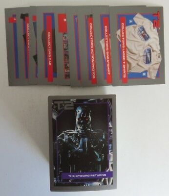 1991 T2 Terminator Complete Card Set With Offer Cards              (Inv17456)