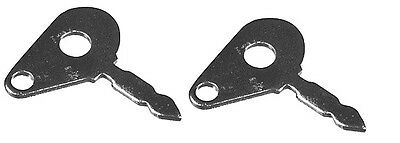 960128M91 Keys (Set of 2) Fits Many Massey Ferguson Case IH/David Brown Tractors
