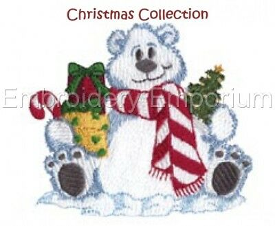 Christmas Collection 15 - Machine Embroidery Designs On Cd