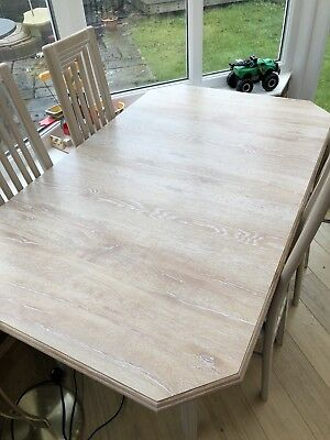 Limed Oak Dining Table And Chairs With Limed Oak Dining Table And Chairs.