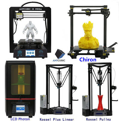ANYCUBIC 3D Printers i3 Mega / Kossel / DLP Photon Large Print Size Ship from AU