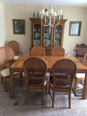 Dining Room Set seats 8. China Cabinet. All in excellent condition.