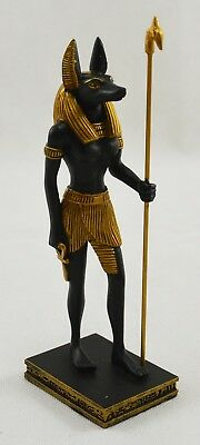 Superb Egyptian Standing Anubis Protector of Graves Statue Figurine/Ornament NEW