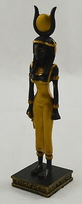 Superb Egyptian Isis Goddess/Diety Statue/Figurine/Ornament Black/Gold NEW