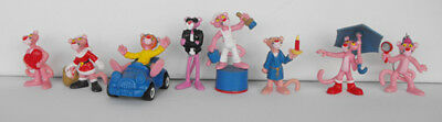 PINK PANTHER set 3 lot of 8 cool items must have bully car keychain L@@K