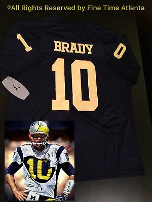 authentic tom brady michigan Nike player jersey d053175d2