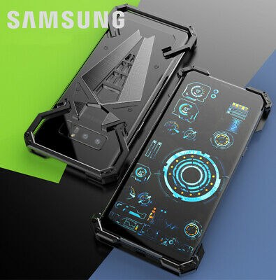 Spider Man Metal Armor Bumper Shockproof Case Cover For Samsung Note 8/S9 Plus