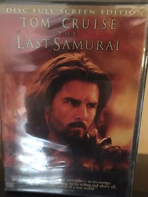The Last Samurai (DVD, 2004, 2-Disc Set, Full-Screen Version) Brand New Sealed