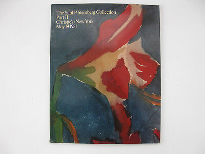 The Saul P Steinberg Collection Part 2 Christie's catalog may 1981 vintage