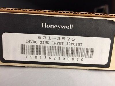 Honeywell 621-3575 24Vdc Sink Input Module 32 Point