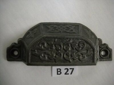 Antique Eastlake Cast Iron Drawer Bin Pulls 1870 To 1890S