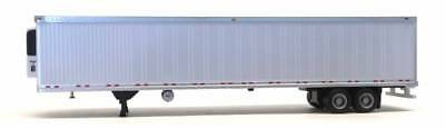 HO 1:87 Promotex/Herpa 53ft Thermo King Reefer Van (Trailer Only) - White (5491)