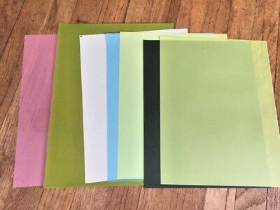 3M Lapping Film Assortment (6) 1 ea of 30,12,9,3,1, & 0.3 micron 8.5 x 11 SHEETS