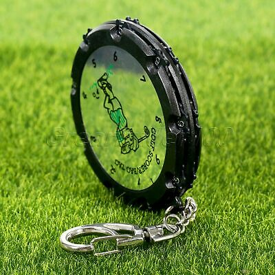 18 Holes Golf Stroke Score Counter Shot Putt Scoring Keepers & Keychain Portable