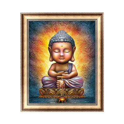 Gift~ 5D Diamond Painting Embroidery Cross Crafts Stitch Kit Buddha DIY Gifts