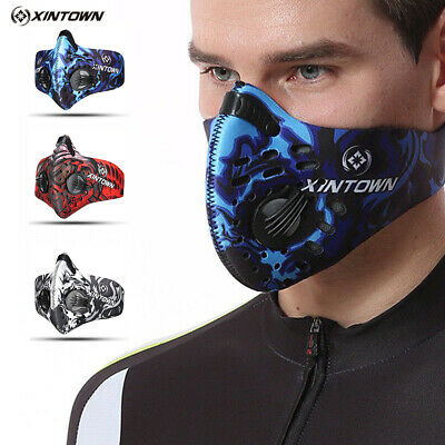 Running Fitness Workout Mask Hypoxia Training Oxygen Controlled High Altitude