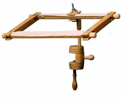Elbesee Versatile Table Clamp Stand for holding Frame or Hoop *Made in Britain*