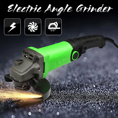 """220V 1200W Electric Angle Grinder 115mm 4.5"""" Cutting Grinding Adjustable Tool"""