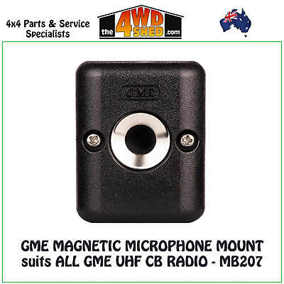 GME MAGNETIC MICROPHONE MOUNT suits ALL GME UHF CB RADIO - MB207