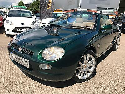 2001 MG MGF 1.8 2dr Sport Convertible BRG Petrol *IDEAL INVESTMENT VEHICLE *