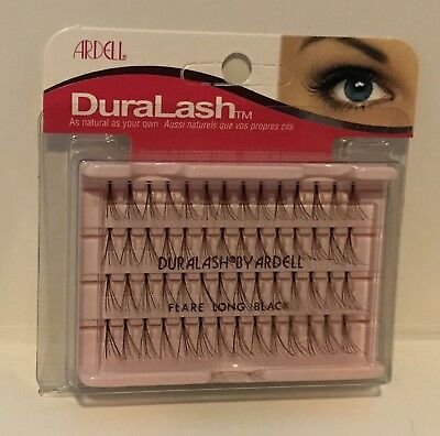 cc30d3f827d Ardell DURALASH Flare Individual Long Eyelashes Black Knot Free Authentic