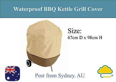 Clouver@ Waterproof Kettle-Style Barbecue Grill Cover 67CM D x 98CM H
