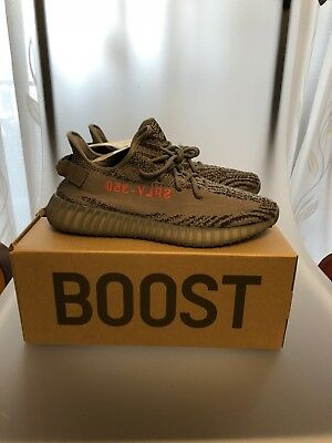ADIDAS YEEZY BOOST 350 v2 Beluga 2.0 Grey Bold Orange US10.5, UK10, EU44 23