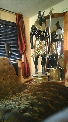 Egyptian God Statue Anubis life size 8ft LOCAL PICK-UP CASH ONLY