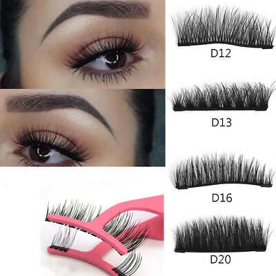 Lash Magnetic Eyelash Accents 3D Reusable False Magnet Eye Lashes And Tweezer