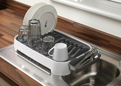 Beldray Small Dish Drainer Space Saving Design For Carvan , Camping , Kitchen
