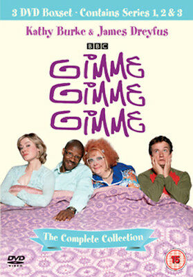Gimme Gimme Gimme Series 1 To 3 Complete Collection Dvd [Uk] New Dvd
