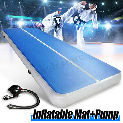 26FT Airtrack Inflatable Air Track Floor Home Gymnastics Tumbling Mat GYM + Pump