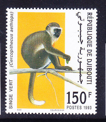 DJIBOUTI 1993 SG1096 Savanna Monkey - superb unmounted mint. Catalogue £140