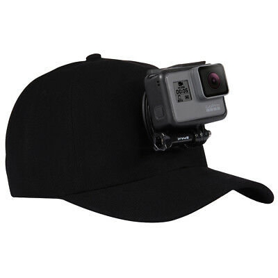 PULUZ Baseball Hat  w/ J-Hook Buckle Mount for GoPro HERO6 5 4 Session 3+ /SJCAM