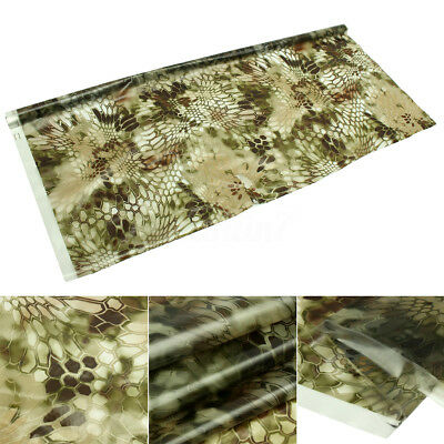 50x200cm Water Transfer Film Brown Hex PVE Printing Hydro Dipping Hydrographics