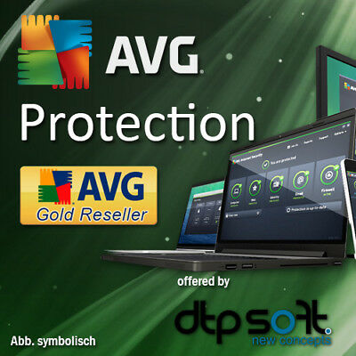 AVG Protection 2020 Unlimited Appareils/Pc 2ans Antivirus Mac Android 2019 FR EU