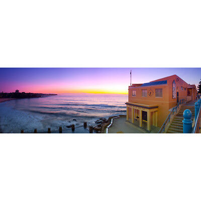 Photography Canvas Prints Wall Art Panoramic Landscape Coogee Beach