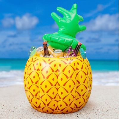 75cm Inflatable Pineapple Drinks Beer Cooler BBQ Hawaiian Pool Party Decoration